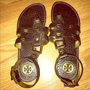 Tory Burch Gladiator Sandals Size 8